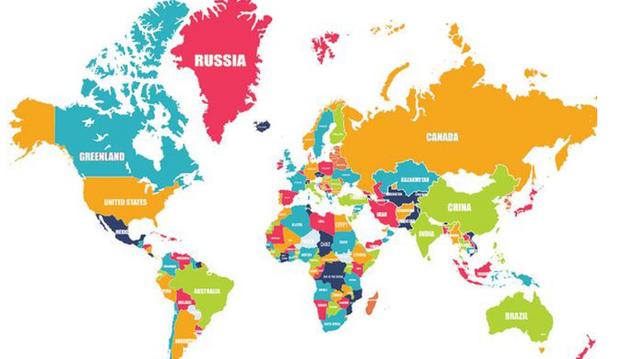 Kanada Karta Svijeta.Sto Nije U Redu S Ovom Kartom Svijeta Joomboos 24sata Hr